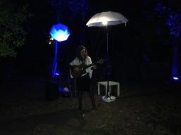 Estelle Panné au Parc de la Guirlande