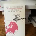 Pourquoi l'Europe, réflexions d'un sinologue, de Jean-François Billeter